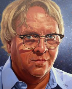 Rich Helms - Painting by Daniel Colby